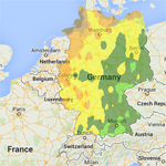 Plant Maps Plant Tree Gardening Climate And Hardiness Zone Maps - Germany map zones